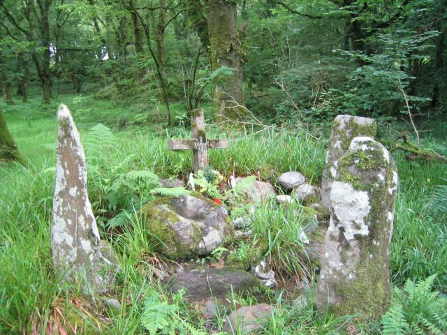 Ogham stones near Baile Mhic Íre (Ballymakeery)