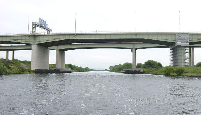 Thelwall Motorway Viaduct