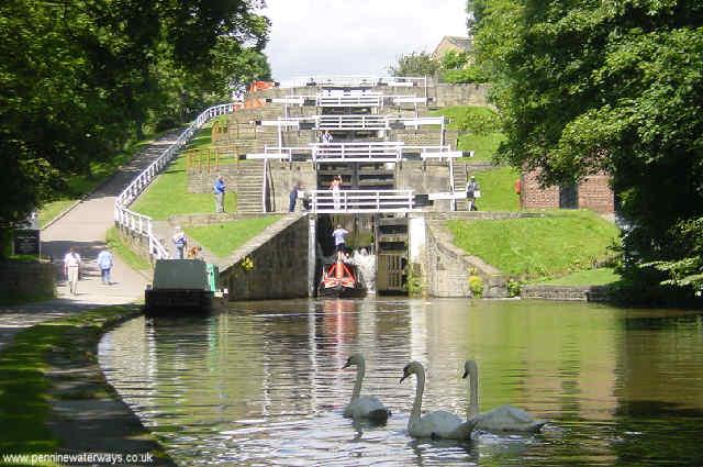 Bingley Five-Rise Locks