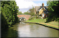 SP4646 : Southern Oxford Canal at Cropredy by Martin Clark