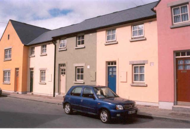 Main street Avoca, Ireland