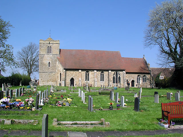 Witchford church from the south