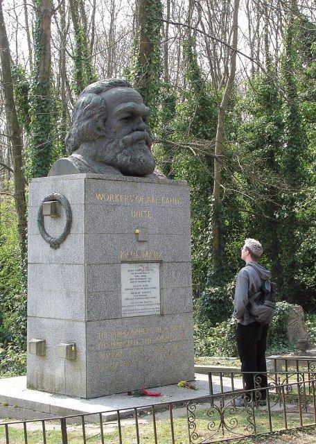 Karl Marx' Grave, Highgate Cemetery (East)