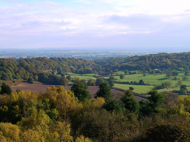 View looking North West from the Hawkstone obelisk