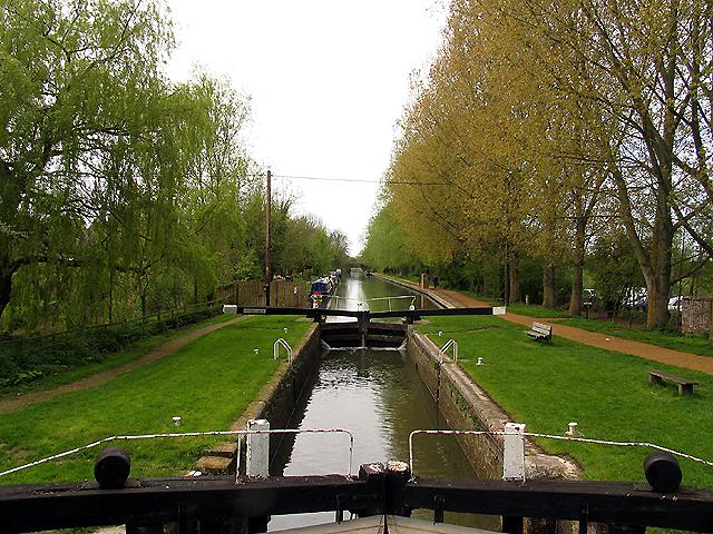 Kintbury Lock: Kennet and Avon Canal