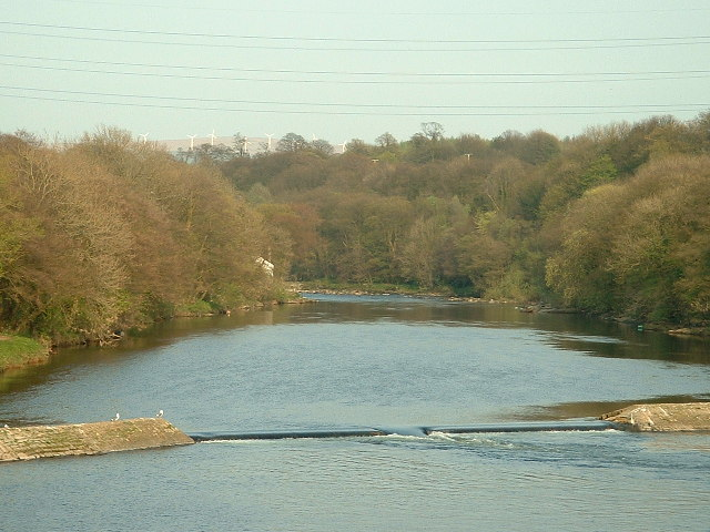 Halton Weir, River Lune