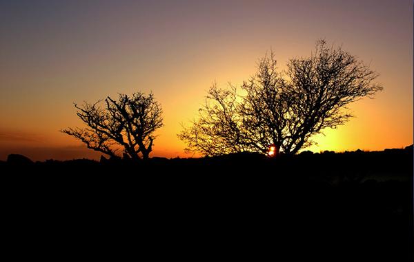 Kilmar Tor Sunset