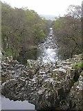 NY8928 : River Tees by Ben Gamble