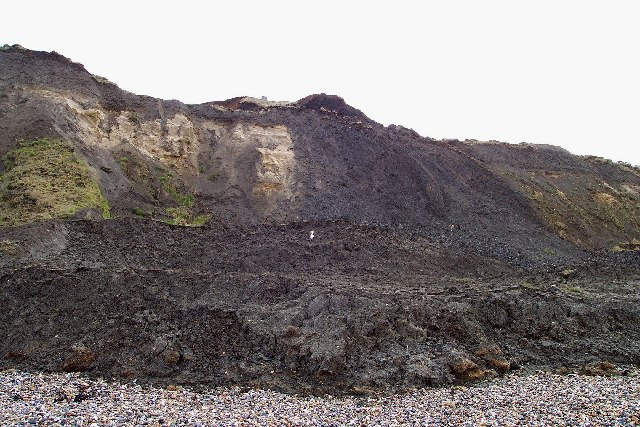 Cliffs below Reculver Country Park