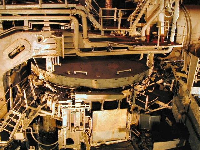 Electric Arc Furnace at Magna