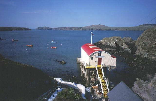 Lifeboat station St Justinian