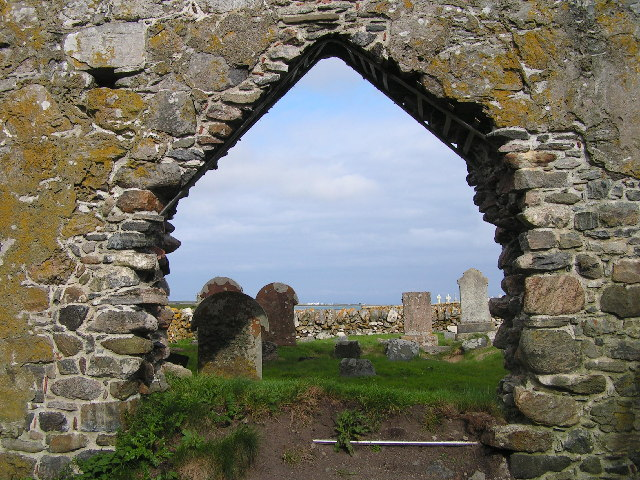 Chapel ruins, Tiree