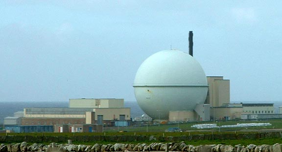 Dounreay Nuclear Reactor Dome