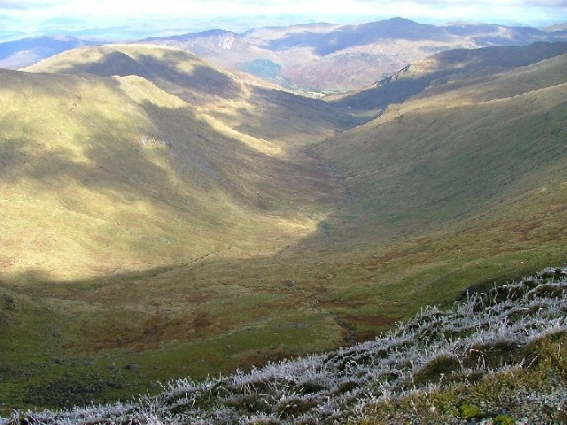 Looking North from Beinn Ghlas