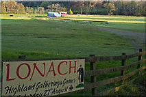 NJ3513 : The Lonach park at Bellabeg by phil smith