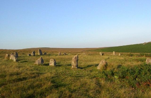 Stone Circle at Brisworthy
