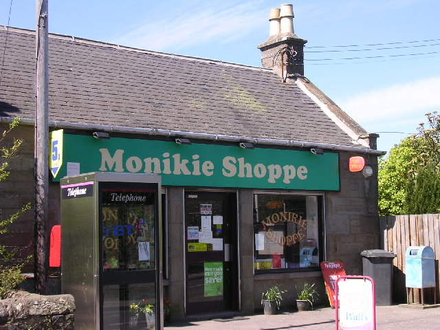 Monikie village store and post office