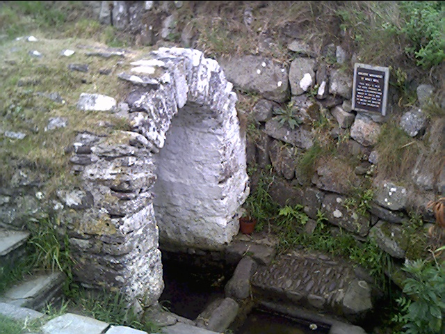 St Non's Well, near the City of St. David's