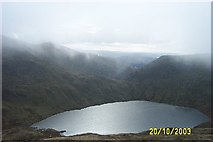 NY3412 : Grisedale Tarn from southern slopes of Dollywagon Pike by paul birrell