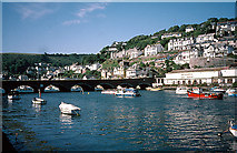 SX2553 : Bridge, Estuary and West Looe by Pam Brophy