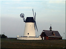 SD3727 : Lytham Windmill by Ruth Harris