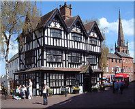SO5140 : The Old House, High Town, Hereford by Ruth Harris