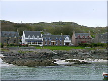 NM2824 : The seafront and houses on the Island of Iona by Ralph Averbuch