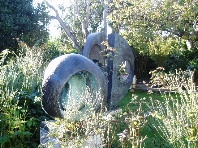Barbara Hepworth Sculpture Garden, St Ives