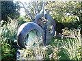 SW5140 : Barbara Hepworth Sculpture Garden, St Ives by Rowena Ford