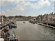 SY6778 : Weymouth Harbour by Richard Johns