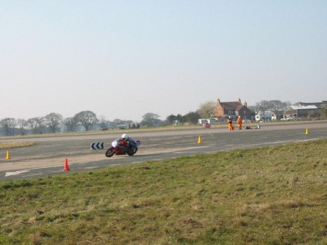 Racing at Elvington Airfield
