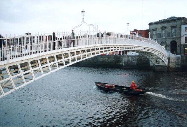 Dublin Ha Penny Bridge 169 Rudi Wilderjans Geograph Ireland