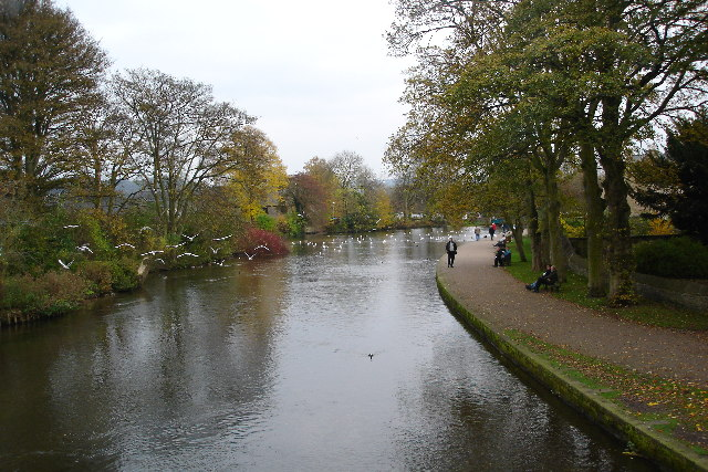 View from Bakewell bridge