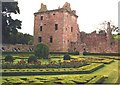 NO5869 : Edzell Castle by Anne Burgess