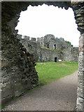 NN1275 : Inverlochy Castle by J M Briscoe
