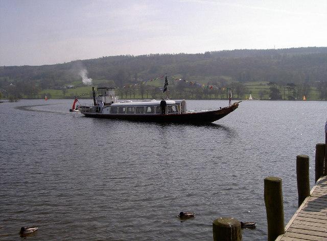 The Gondola on Coniston Water