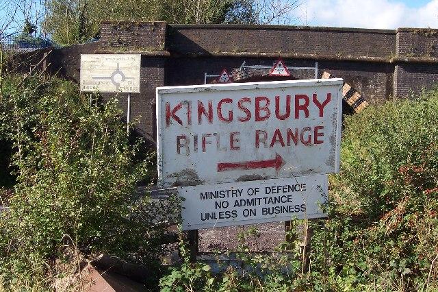 Kingsbury Rifle Range
