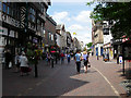 SJ9223 : Town centre, Stafford by Val Vannet