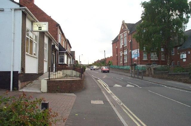 Carter Lane, Shirebrook