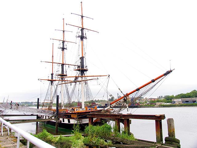 Dunbrody Famine Ship (Replica)