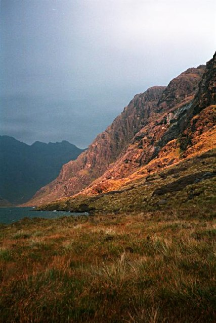 By Loch Coruisk by Toby Speight