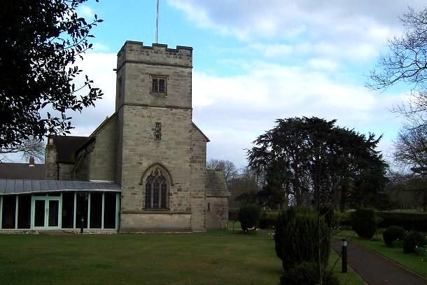 Canwell churchyard