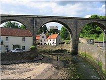 NO4102 : Viaduct, Lower Largo by Richard Webb