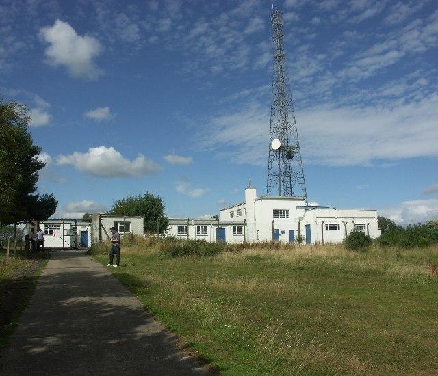 Former Scottish Office radio station at Montreathmont Moor