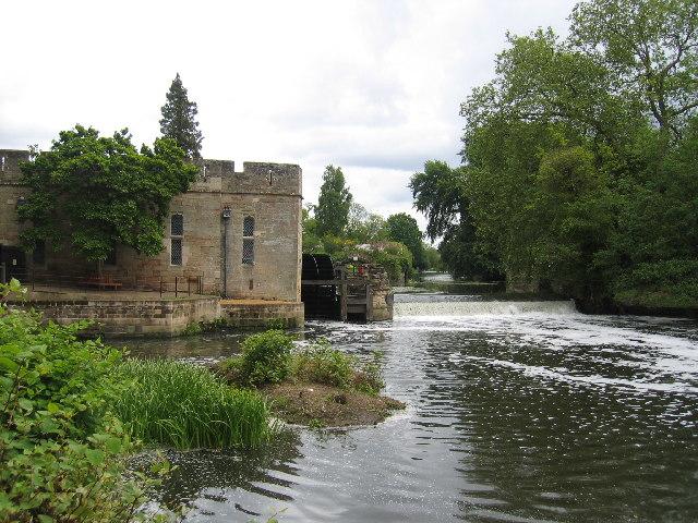 Warwick Castle Mill