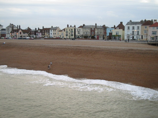 Deal beach and seafront