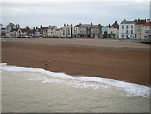 TR3752 : Deal beach and seafront by Darren Smith