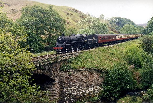 North York Moors Railway near Thomason Foss