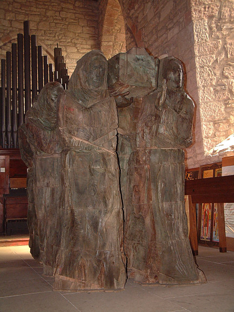 St Aidan and the Monks