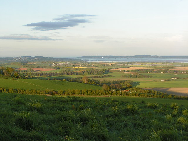 Carse of Gowrie towards Dundee